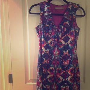 Beautiful colorful dress worn 2 times